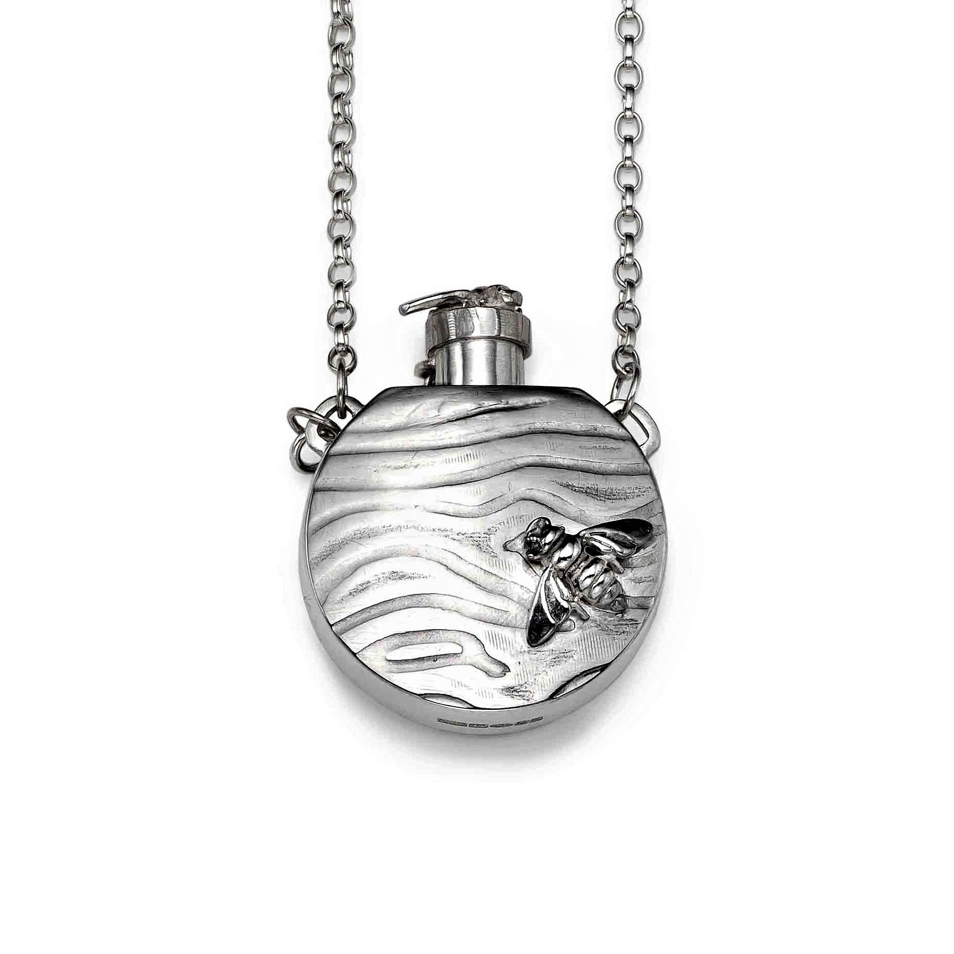 Silver Bee Bottle